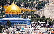 Jerusalem Old City Dome Of The Rock 001