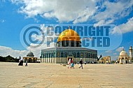 Jerusalem Old City Dome Of The Rock 008