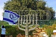 Israel Flag 043