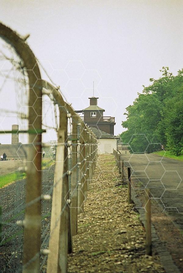 Buchenwald Barbed Wire Fence and Watchtower 0003