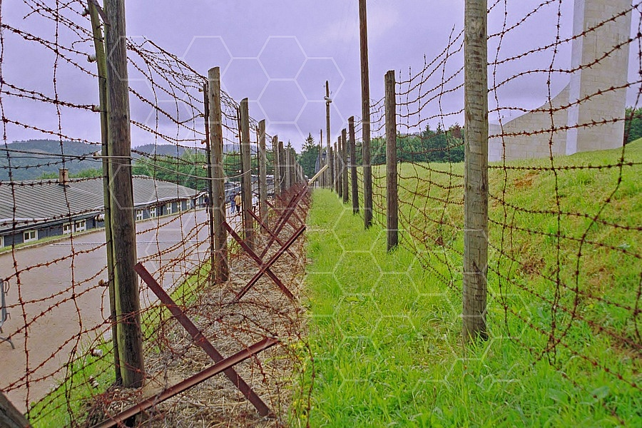 Natzweiler-Struthof Barbed Wire Fences 0003