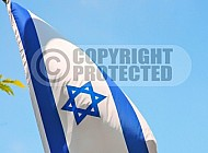 Israel Flag 076