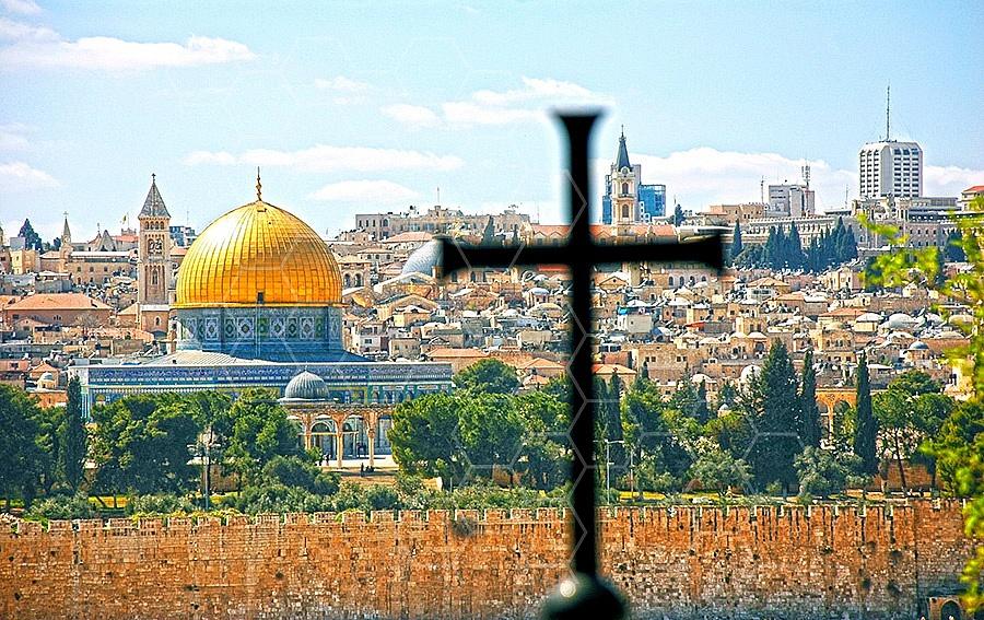 Jerusalem From Mount Of Olives 002