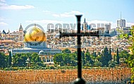 Jerusalem From Mount Of Olives 002