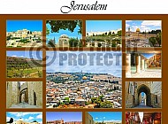 Jerusalem Photo Collages 004