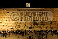 Kotel View At Night 010