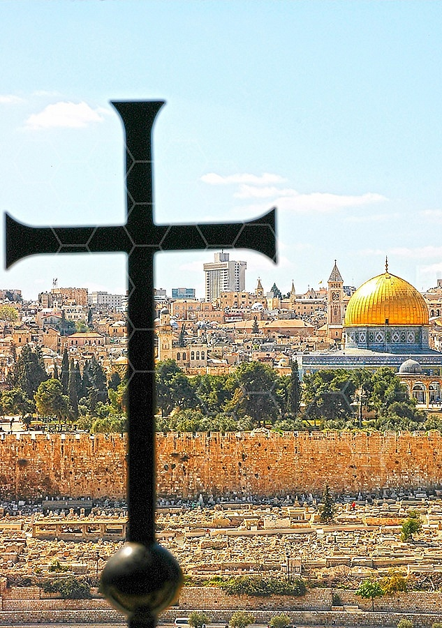 Jerusalem From Mount Of Olives 006