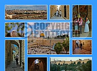 Jerusalem Photo Collages 028