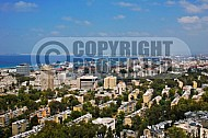 Haifa City View and Sea Port 0004