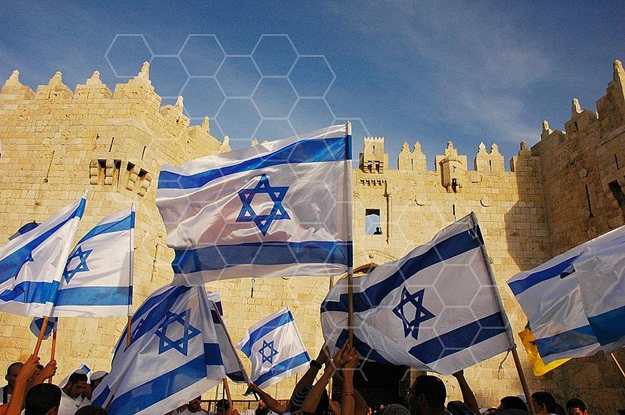 Israel Flag 003