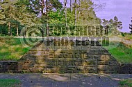 Bergen Belsen Memorial for Barracks 0004