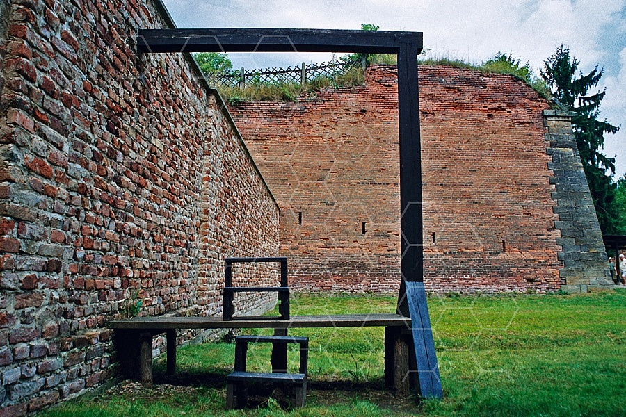 Terezin Gallows for Executions 0002