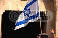Israel Flag 025