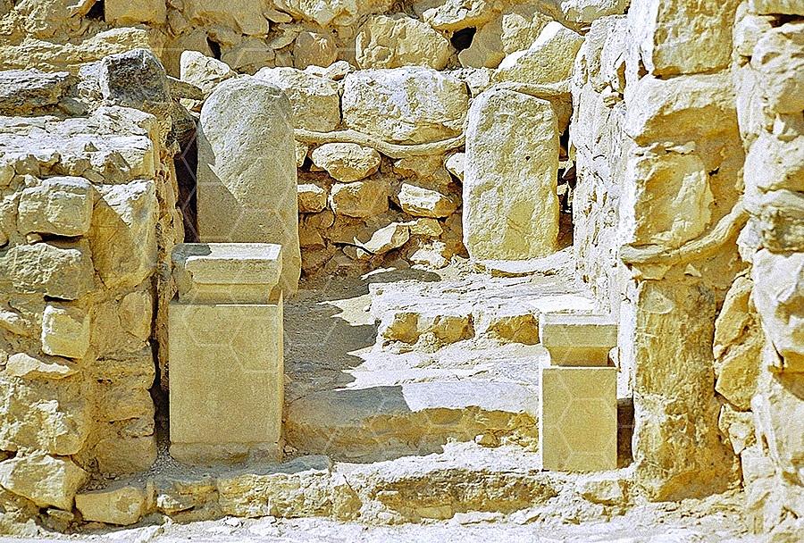 Tel Arad Holy of Hollies 002