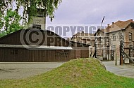 Auschwitz Camp Gates 0018