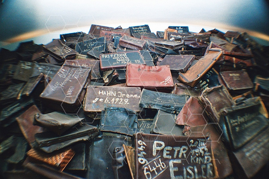Auschwitz Suitcases with the Name of Prisoners 0002