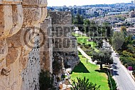 Jerusalem Old City  Walls 003