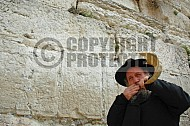 Kotel Blowing The Shofarf 019