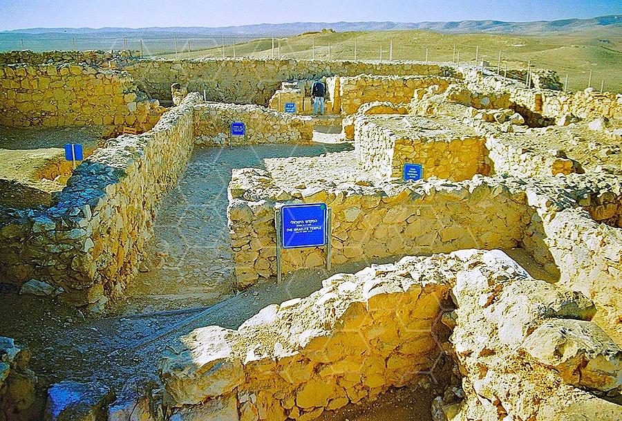 Tel Arad The Israelite Temple 002