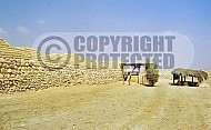 Tel Be'er Sheva City Wall 001