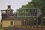 Buchenwald Barbed Wire Fence and Watchtower 0009