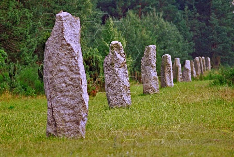 Treblinka Stones Delimiting Boundary 0004