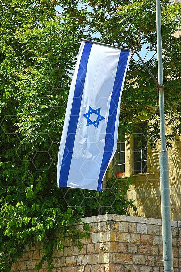 Israel Flag 074