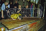 Jerusalem Holy Sepulchre Stone Of Anointing 013