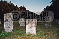 Chelmno Jewish Memorials in the Cemetery 0003
