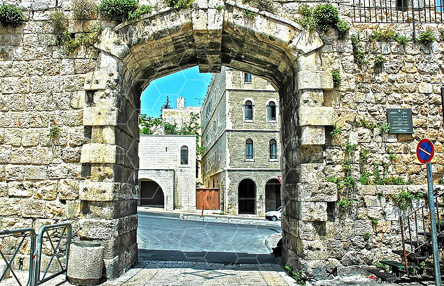 Jerusalem Old City New Gate 001