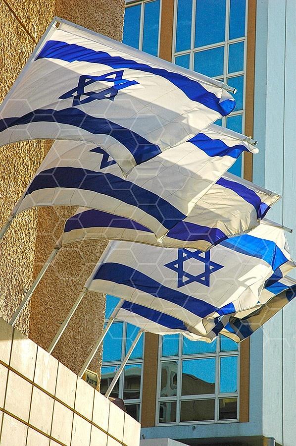 Israel Flag 063