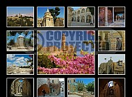 Jerusalem Photo Collages 029