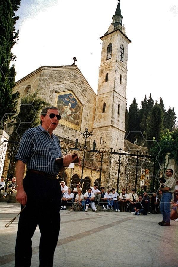 Jerusalem En Karem Church Of The Visitation 0010