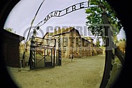 Auschwitz Camp Gates 0015