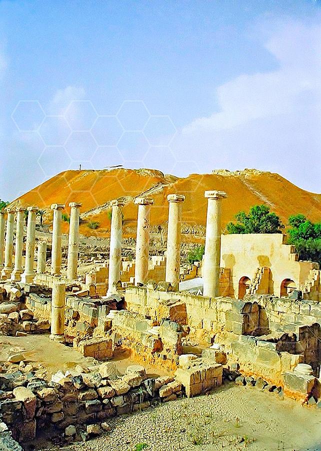 Beit She'an Roman Ruins 005