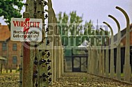 Auschwitz Electrified Barbed Wire Fence 0009