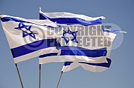 Israel Flag 002