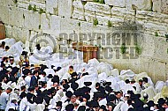 Kotel Priestly Blessing Birkat Kohanim 002