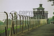 Buchenwald Barbed Wire Fence and Watchtower 0012