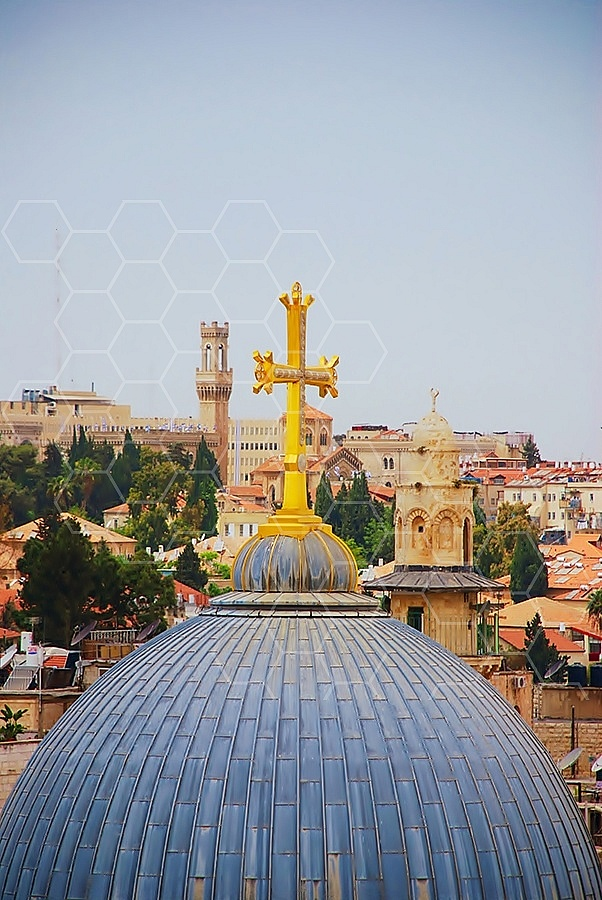 Jerusalem Holy Sepulchre View 015