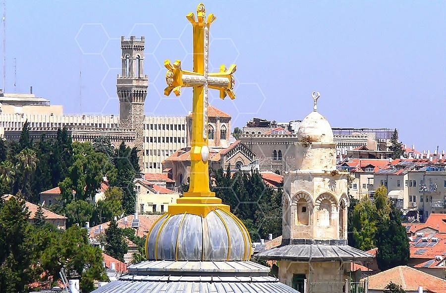 Jerusalem Holy Sepulchre View 002