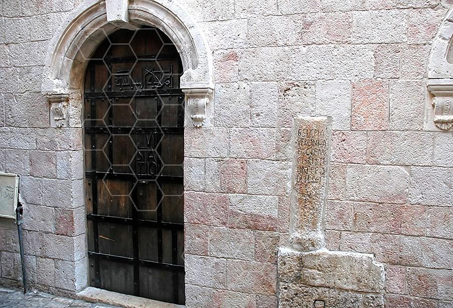 Jerusalem Via Dolorosa Station 6 - 001