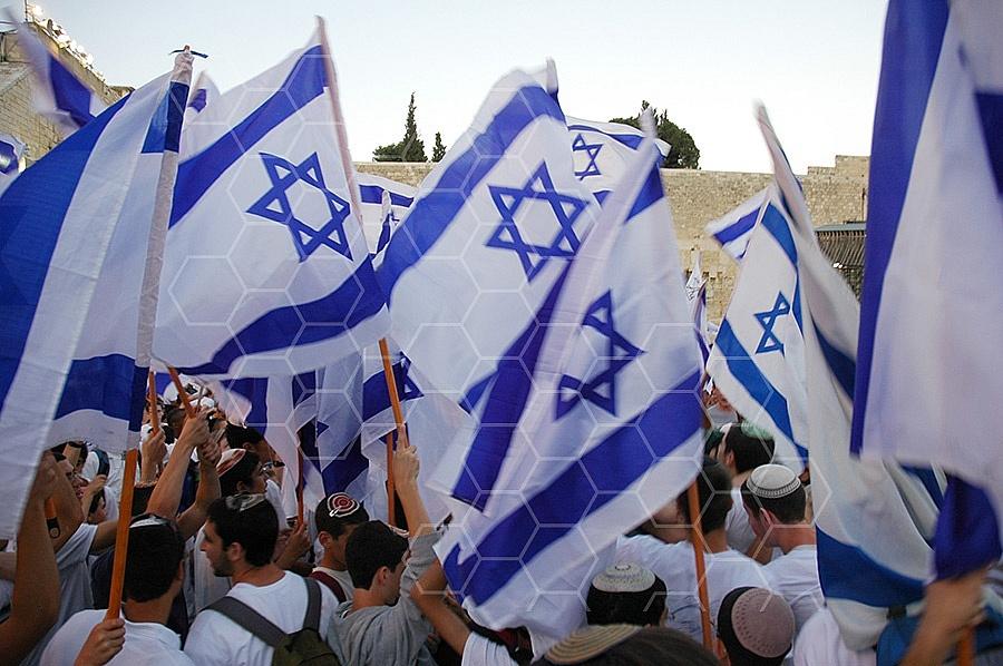 Israel Flag 036