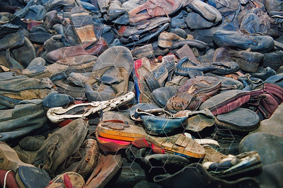 Auschwitz Shoes from Inmates 0002