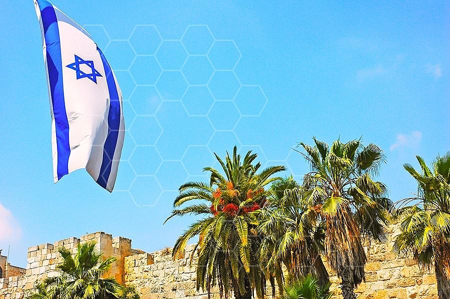 Israel Flag 053