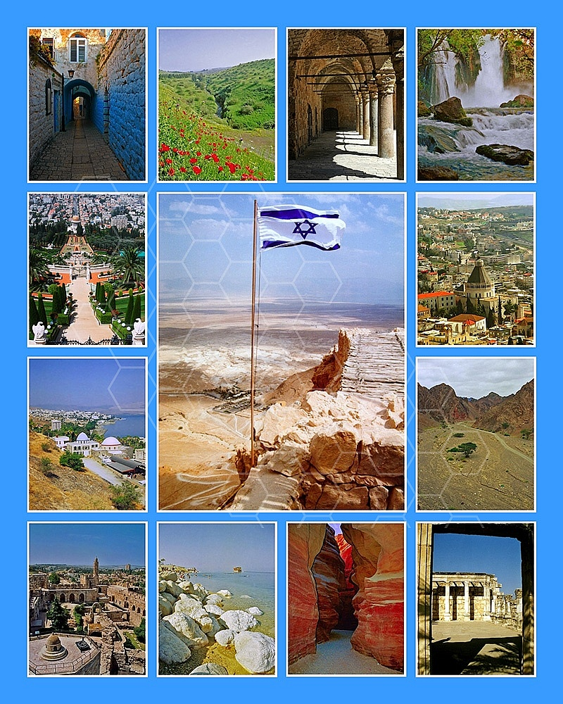Israel Photo Collages 018