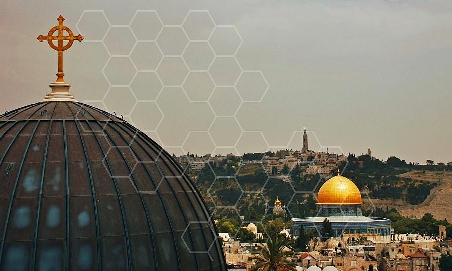 Jerusalem Old City View 0002