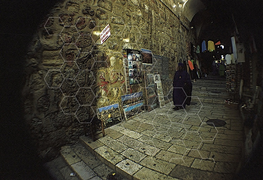 Jerusalem Via Dolorosa Station 8 - 001