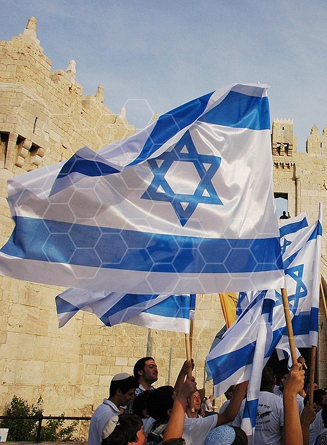 Israel Flag 073
