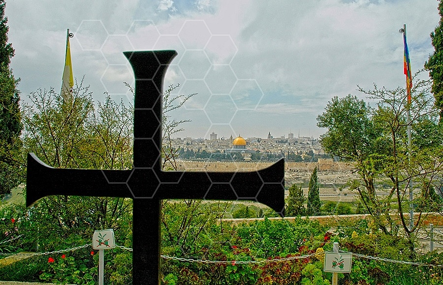 Jerusalem From Mount Of Olives 001